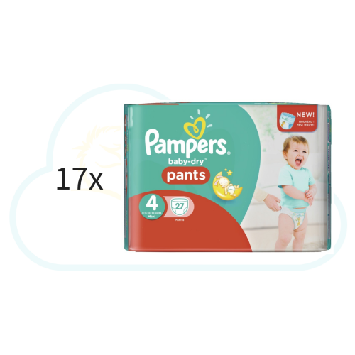 459 COUCHES-CULOTTES PAMPERS PANTS taille 4