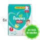 240 COUCHES-CULOTTES PAMPERS PANTS taille 7