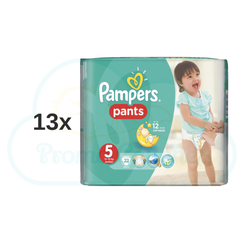 286 COUCHES-CULOTTES PAMPERS PANTS taille 5