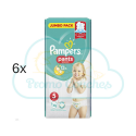 288 COUCHES-CULOTTES PAMPERS PANTS taille 5