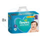720 COUCHES PAMPERS ACTIVE BABY  taille 3