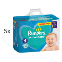 380 COUCHES PAMPERS ACTIVE BABY taille 4