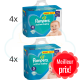 304 COUCHES taille 4 et 256 COUCHES taille 5 PAMPERS ACTIVE BABY
