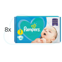 344 couches PAMPERS NEW BABY  taille 1