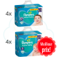 280 COUCHES taille 4+ et 256 COUCHES taille 5 PAMPERS ACTIVE BABY
