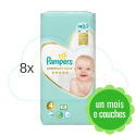 416 COUCHES PAMPERS PREMIUM CARE taille 4
