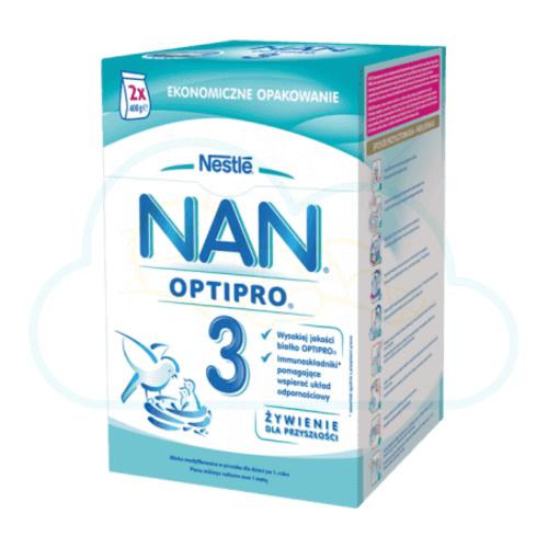 Lait en poudre Nestlé  NAN Pro 3 - 800 g