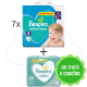 448 COUCHES PAMPERS ACTIVE BABY  taille 5 + 4x52 PAMPERS SENSITIVE