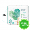 280 COUCHES PAMPERS PURE PROTECTION taille 4