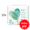 420 COUCHES PAMPERS PURE PROTECTION taille 4