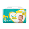98 COUCHES PAMPERS PREMIUM PROTECTION taille 3