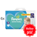 660 COUCHES PAMPERS ACTIVE BABY  taille 5