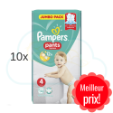 520 COUCHES-CULOTTES PAMPERS PANTS taille 4