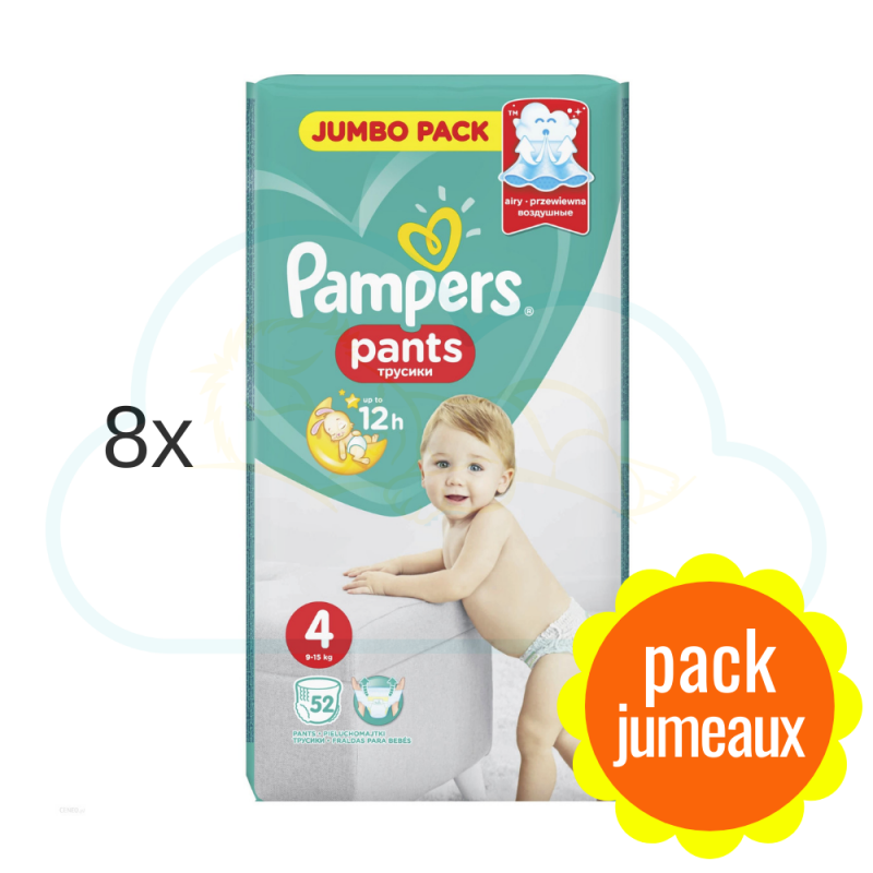 416 COUCHES-CULOTTES PAMPERS PANTS taille 4