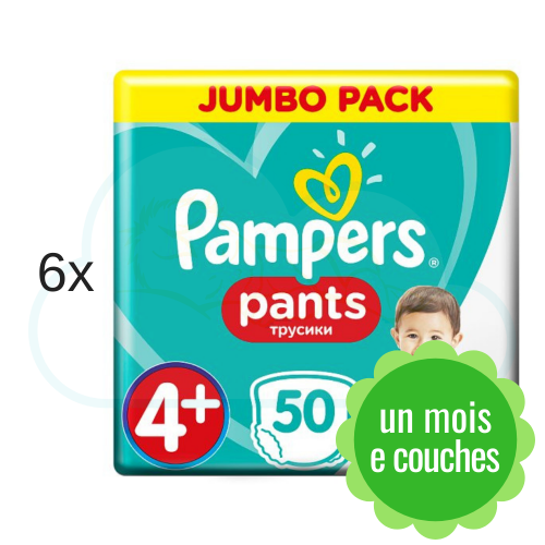 300 COUCHES-CULOTTES PAMPERS PANTS taille 4+