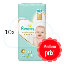 520 COUCHES PAMPERS PREMIUM CARE taille 4