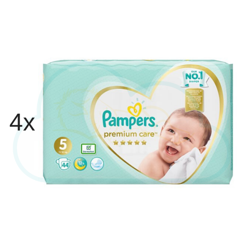 176 COUCHES PAMPERS PREMIUM CARE taille 5