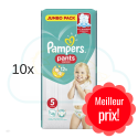 480 COUCHES-CULOTTES PAMPERS PANTS taille 5