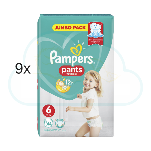 396 COUCHES-CULOTTES PAMPERS PANTS taille 6
