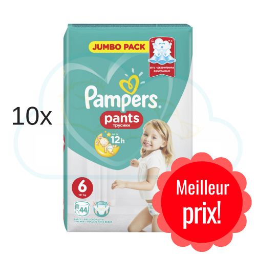 440 COUCHES-CULOTTES PAMPERS PANTS taille 6
