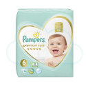 38 COUCHES PAMPERS PREMIUM CARE taille 6