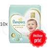 380 COUCHES PAMPERS PREMIUM CARE taille 6