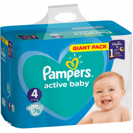 Pampers Active Baby Dry